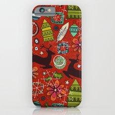 joyous jumble rust iPhone 6s Slim Case
