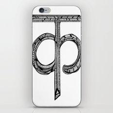 Hindi Alphabet C/K iPhone & iPod Skin