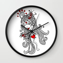 Crown of Pain - An Introduction - Zine Wall Clock