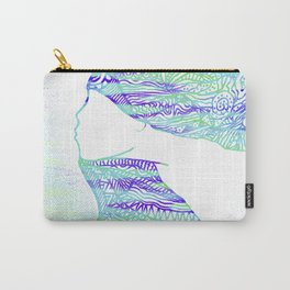 Tribal Flow 01 Carry-All Pouch