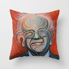 Bernie Sanders Throw Pillow