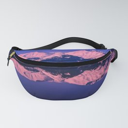Rose Alpenglow Fanny Pack