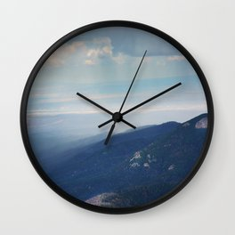 Rain Moves In Wall Clock