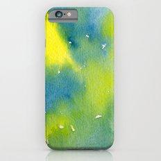 Vibrant sunshine tree top Slim Case iPhone 6s