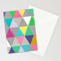 triangle party Stationery Cards