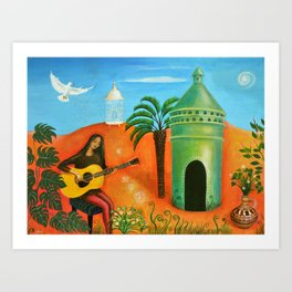 The Dovecote Art Print
