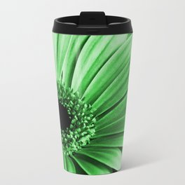 Gerbera Green Travel Mug