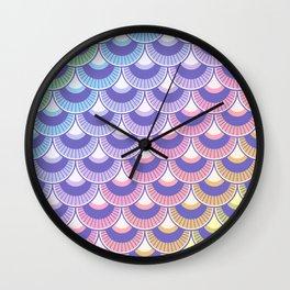 Koi Nobori Niji Pastel Wall Clock