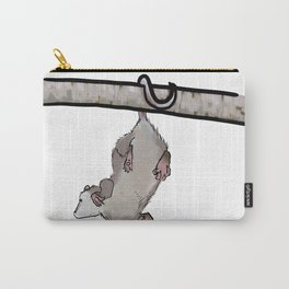 Hanging Opossum Carry-All Pouch