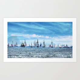 Windjammerparade Art Print