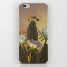 Night Blooming Cereus iPhone Skin