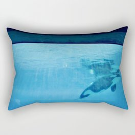 Orca Of The Ocean Rectangular Pillow