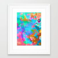 candy Framed Art Prints featuring Candy by Amy Sia