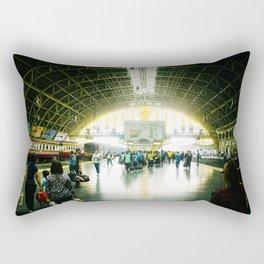 Bangkok Station Rectangular Pillow