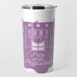 Jane Austen - Pride and Prejudice, Longbourn Travel Mug