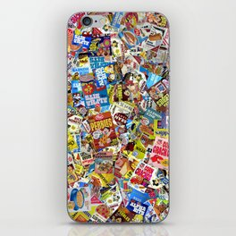 Cereal Boxes Collage iPhone Skin