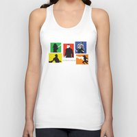 guardians Tank Tops featuring Guardians by PeterParkerPA