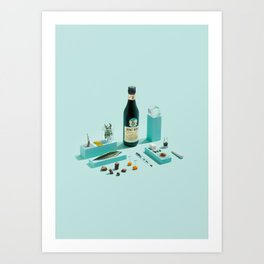 Fernet Deconstruction Art Print