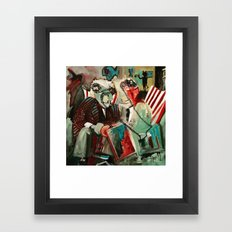 The Portal Framed Art Print