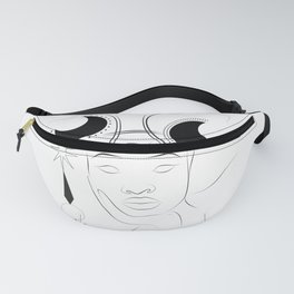 Pisces astrological zodiac sign afro women Fanny Pack