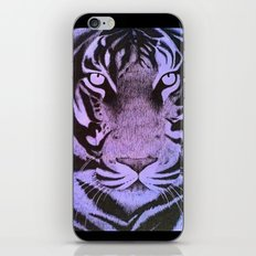 Be a Tiger (Purple) iPhone Skin
