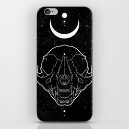Moon Cat iPhone Skin