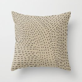 MARKS Throw Pillow