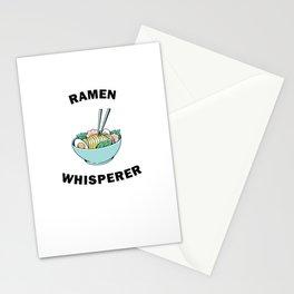 Funny Ramen Whisperer  Stationery Cards