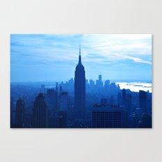 Rhaposdy in Blue Canvas Print