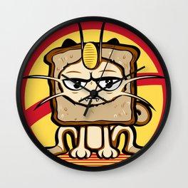 Meowth Breading Wall Clock