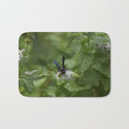 Scolia dubia a.k.a The Blue Winged Wasp Bath Mat