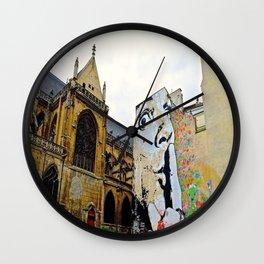 Paris….Shhhhh Wall Clock