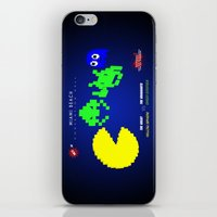 fight iPhone & iPod Skins featuring Fight ! by mauro mondin
