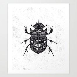 Scarabaeoidea Art Print