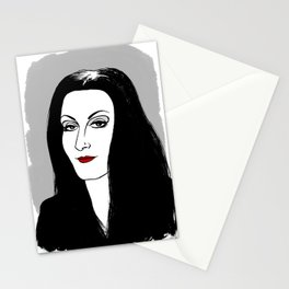 MORTICIA ADDAMS - THE ADDAMS FAMILY Stationery Cards