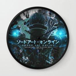 Sword Art Online Wall Clock