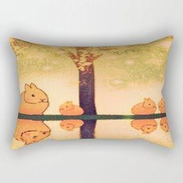 rabbit-25 Rectangular Pillow
