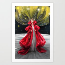 Faerie Queen Art Print