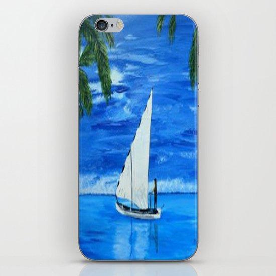 Sailing a way  iPhone & iPod Skin