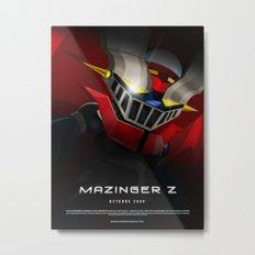 mazinger fan art Metal Print