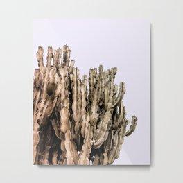 Metal Cactus Metal Print