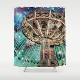 Dip Your Toes In the Stars Shower Curtain