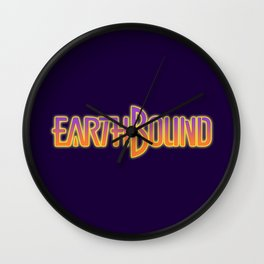 Earthbound Title Screen Wall Clock