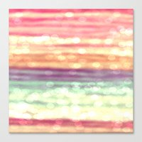 pastel Canvas Prints featuring Pastel  by WhimsyRomance&Fun