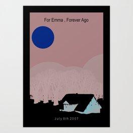 Bon Iver Poster Art Print