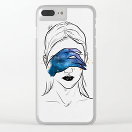 Magical touch. Clear iPhone Case