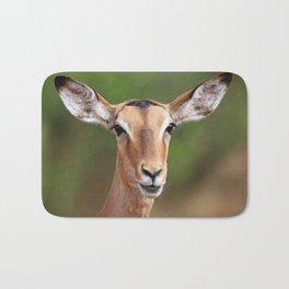 Female Impala, Africa wildlife Bath Mat