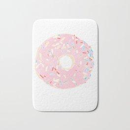 pink donut Bath Mat