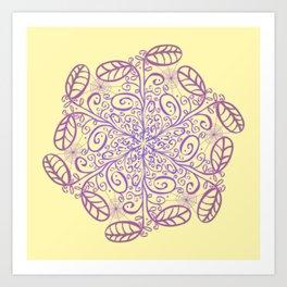 Ornato Hexagonal Art Print