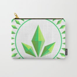 The Sims Plumbob Emblem Carry-All Pouch